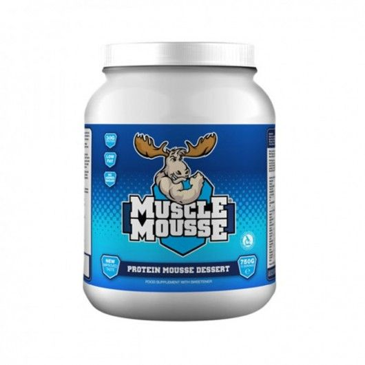 Muscle Mousse Protein Dessert - ZERO GI, ZERO Carbs, ZERO Calorie Sweetener!!!  This high protein, gluten free mousse can be enjoyed at absolutely any time of the day, without the guilt.