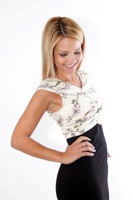 Ted Baker jurk met volgelprint | Fashionistic Webshop Dameskleding