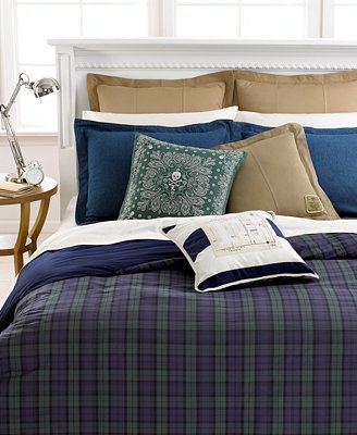 Lauren Ralph Lauren Blackwatch King Comforter Someday