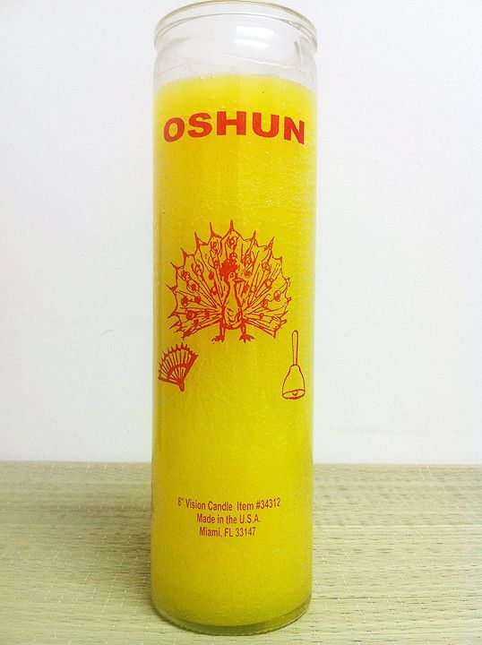 For Orisha Oshun, used for love, money and female fertility & health issues.