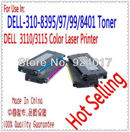 Compatible Dell 3115cn 3110cn 3110 3115 Color Printer Toner Cartridge,For Dell Laser Printer 3110 3115 Color Toner Cartridge  — 4078.78 руб. —