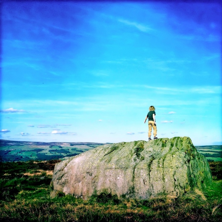 Elaine    @sunflowerof21    This is Ilkley Moor. A place where my little boys become big adventurers, and my husband becomes a little boy again. A place where we enjoy real quality time as a family. The place we got married. I love it!