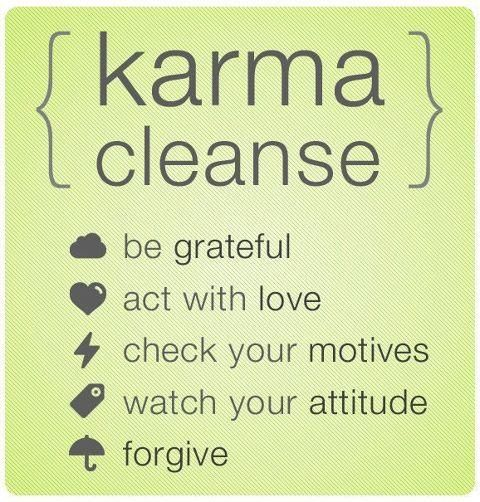 Karma cleanse : ): Dust Jackets, Karma Clean, Books Jackets, Quotes, Wisdom, Truths, Living, Karmaclean,  Dust Wrappers