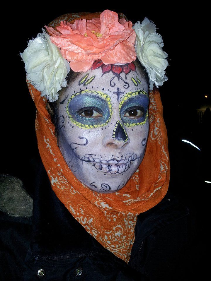 Bootcamp Ireland - Christmas Party Awards 2014 - Our Amazing Make Up Artist Adriana does dawn of the dead