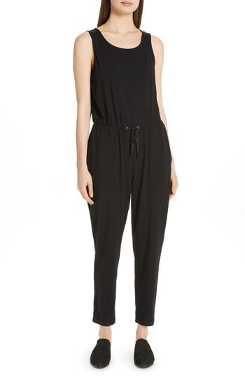 556101d29566 Eileen Fisher Drawstring Slouchy Jumpsuit