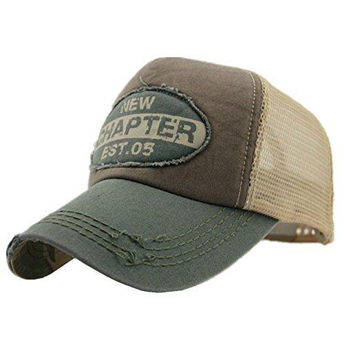 Home prefer mens vintage mesh trucker hat outdoor for Home prefer hats