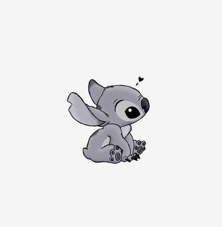 Possible future tattoo, maybe worked into my sleeve? Stitch has always been my power animal...er...alien.