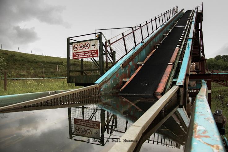 Abandoned Loudoun Castle Theme Park Abandoned Theme