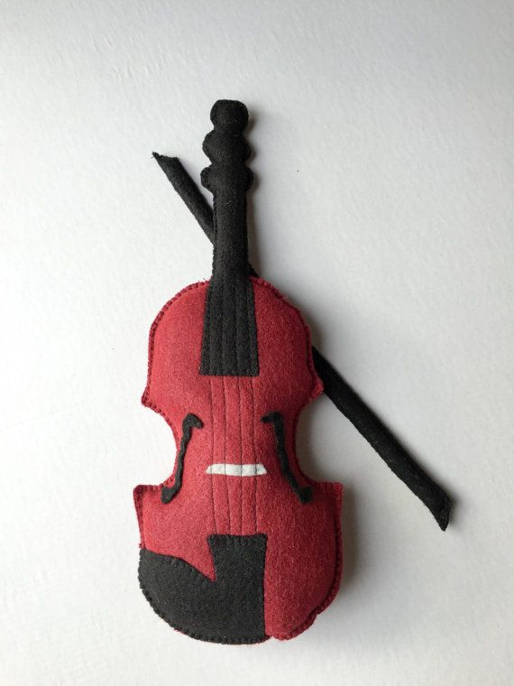 This plush violin is perfect for music lovers of all ages! Play along with your favorite toddler as you listen to the radio or simply use it as