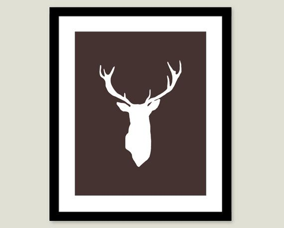 Hey, I found this really awesome Etsy listing at https://www.etsy.com/listing/123360349/deer-antlers-stag-digital-print-modern