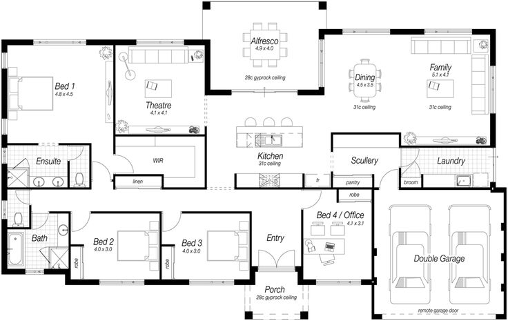 1000 images about house plans on pinterest for Ross north home designs