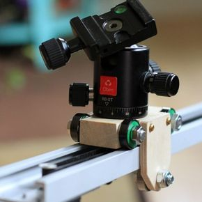 Picture of Simple Camera Slider for Time-lapse Photography