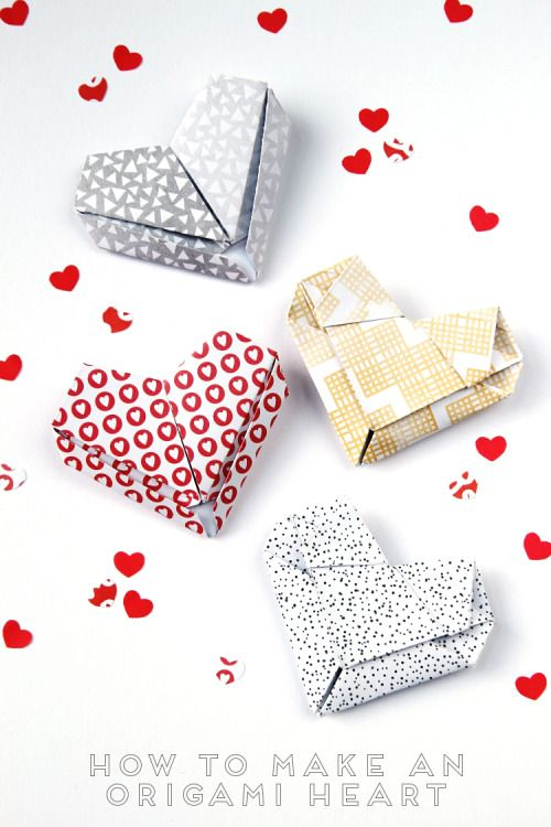 DIY 4 Ways to Make Origami Hearts from Gathering Beauty. Are...