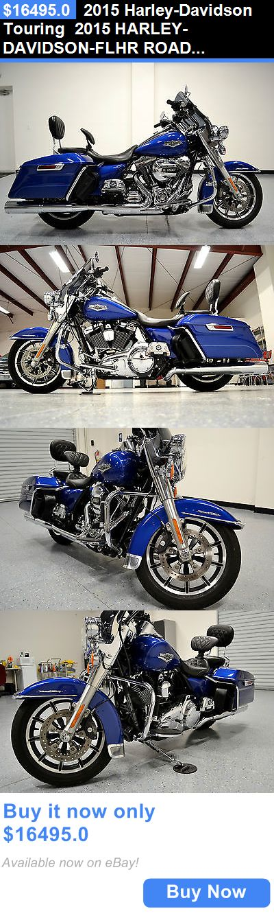 Motorcycles: 2015 Harley-Davidson Touring 2015 Harley-Davidson-Flhr Road King Touring Cvo Windshield, Vance And Hines Ex BUY IT NOW ONLY: $16495.0