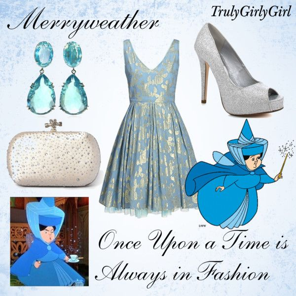 Disney Style: Merryweather, created by trulygirlygirl on Polyvore