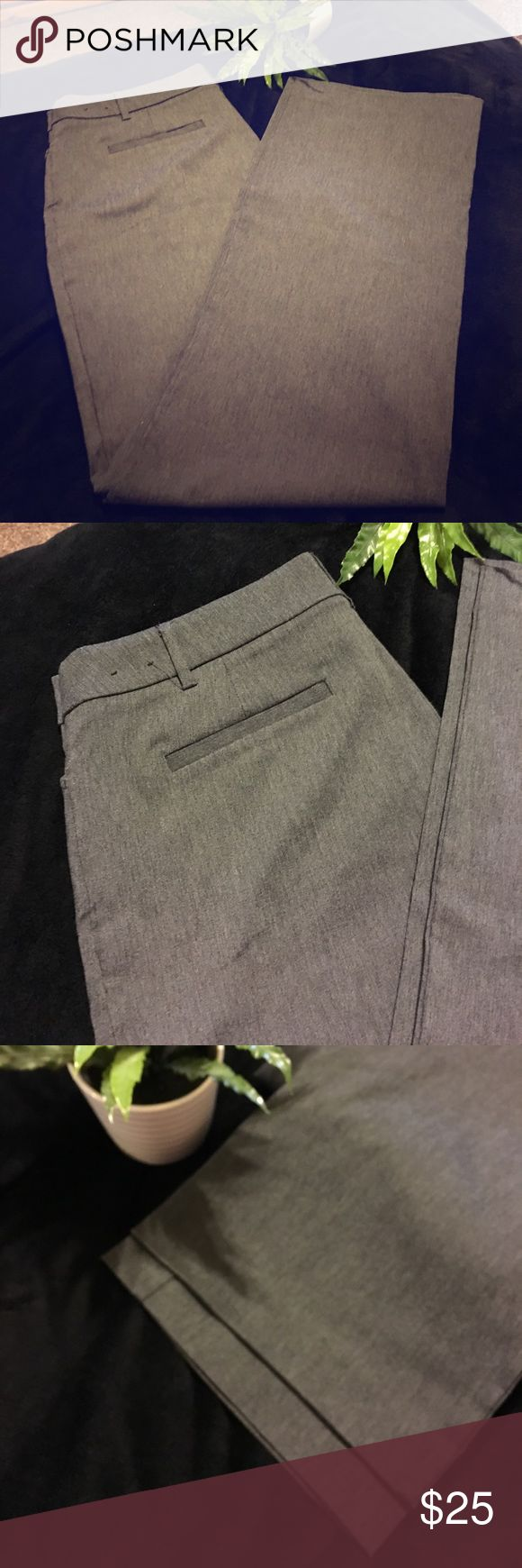 💕EUC! Sz 12, Gray Dress pant, Stretch! Nice! 💕 💕EUC! Sz 12, Gray Slack, thick! Stretch! Nice! 💕. Excellent pair of gray slacks. Super nice material. You would think that you just purchased these right off the rack. They have a nice stretch to them. Even the buttons and the slides look like they are in brand-new condition. This would be an excellent purchase for the woman who has to dress up for work which I no longer have to do!!  💕❤️💕 Fashion Bug Pants Trousers