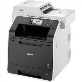 Tiskárna multifunkční Brother DCP-L8450CDW (DCPL8450CDWYJ1) černá/bílá