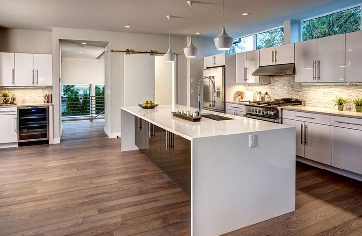 Best 25 corian countertops ideas on pinterest solid for Waterfall restaurant design