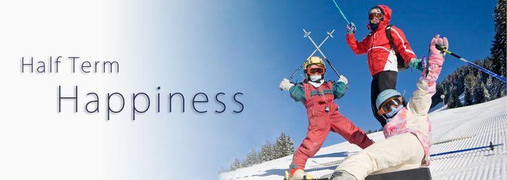 Half term ski holidays in Sainte Foy.