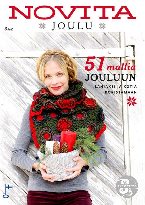 Novita Joulu 2013 -lehti on ilmestynyt! Lehdessä on 51 parasta jouluohjetta lahjaksi ja kotia koristamaan. Saatavilla verkkokaupastamme sekä Lehtipisteistä.