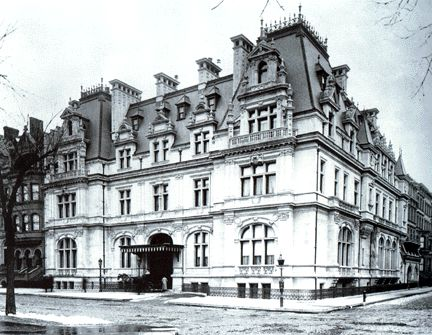 Richard Morris Hunt was a famous architecture of this time and here is an example of his design.