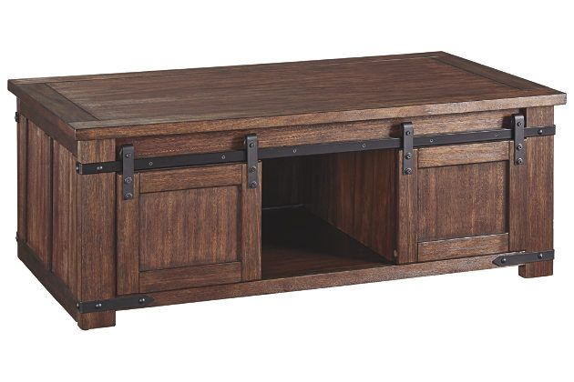Budmore Coffee Table Coffee Table Brown Coffee Table Brown
