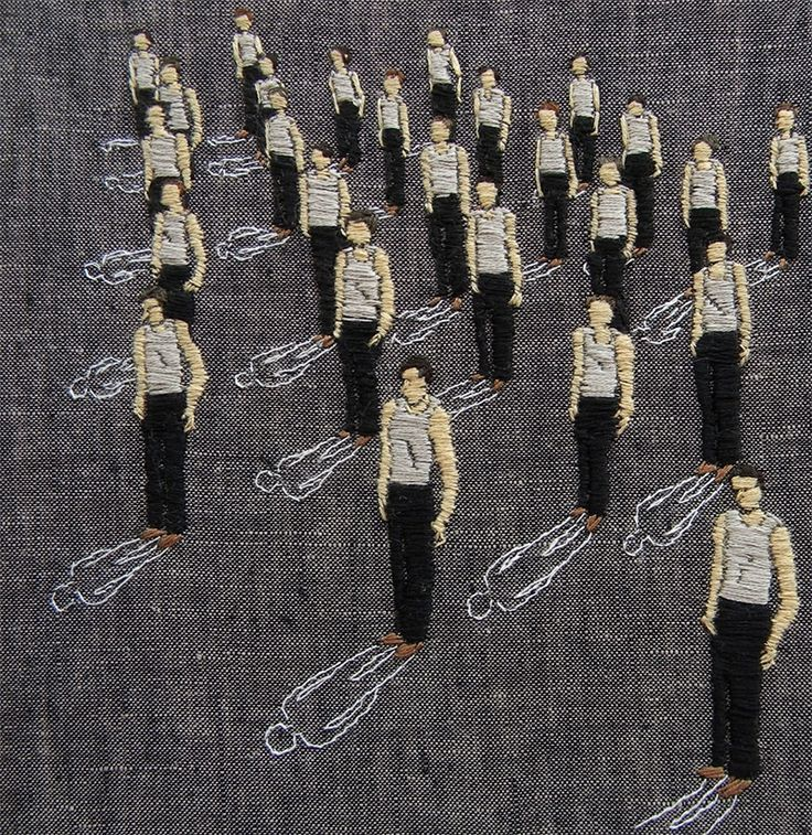 Artist uses thread like paint to create incredible embroidered artworks   Creative Boom