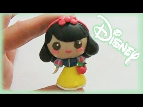 princesa blancanieves de fimo tutorial