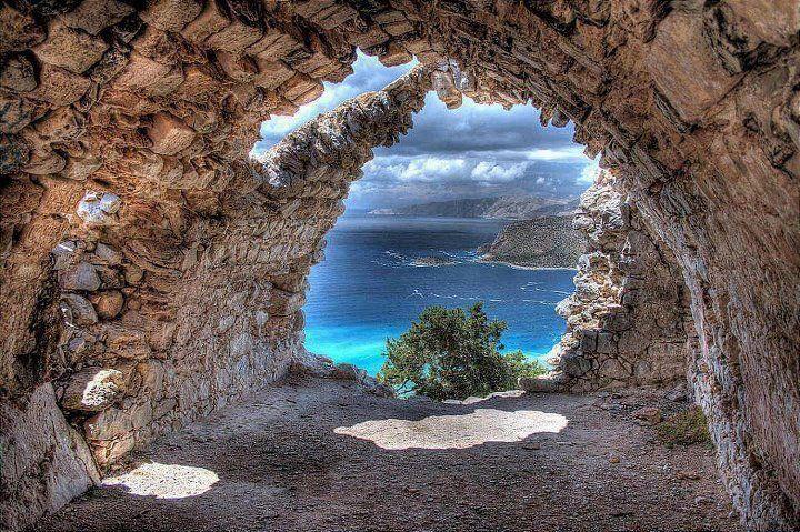 Monolithos Rhodes Greece