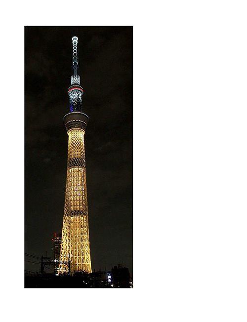 東京スカイツリーがリオ オリンピック特別ライティングに - 金メダルや日本・ブラジルの国旗をイメージ 写真3
