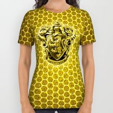Gryffindor logo All Over Print Shirt