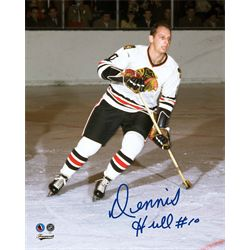 Hull,D Signed 8x10 Unframed Blackhawks-V