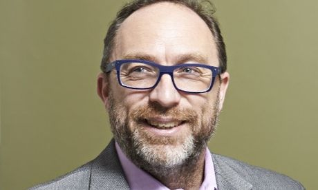 Wikipedia co-founder Jimmy Wales. Photograph: Suki Dhanda for the Observer