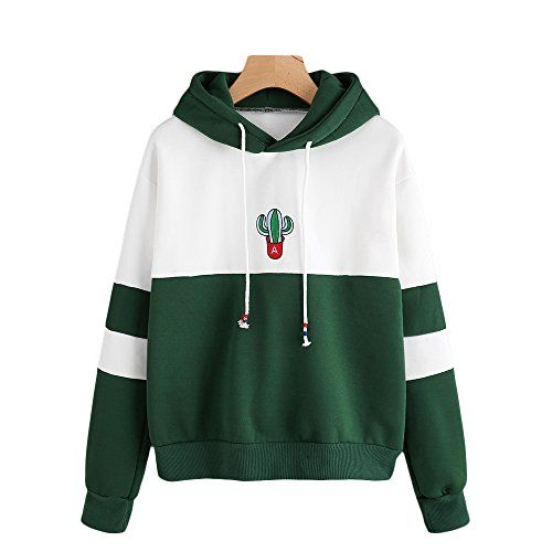 KingWo Mens Autumn Winter Fashion Casual Splicing Pullover Long Sleeve Printing Hooded Sweatshirt Tops Blouse