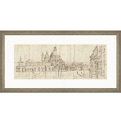 Buy Adelene Fletcher - Venetian Vista Framed Print, 100 x 50cm online at JohnLewis.com - John Lewis
