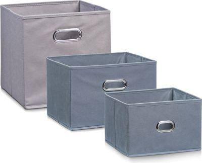 Zeller Aufbewahrungsbox, grau, Vlies in verschiedenen Größen Größe: 33 x 26 x 22 cm Jetzt bestellen unter: https://moebel.ladendirekt.de/dekoration/aufbewahrung/kaestchen/?uid=6df13f81-d56d-5a96-8dcd-8268cd264c1b&utm_source=pinterest&utm_medium=pin&utm_campaign=boards #heim #aufbewahrung #kaestchen #dekoration
