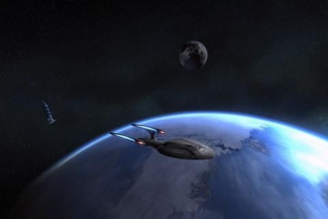 Ziemia Star Trek Star Trek Online nauka odyseja fikcja