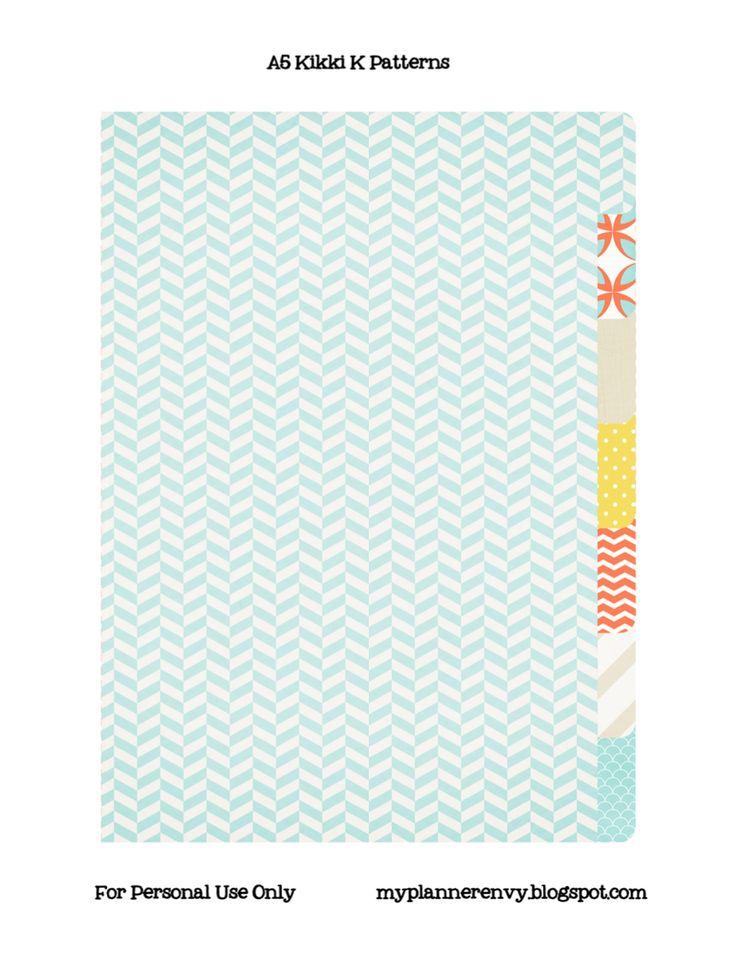 Free Printable Binder Dividers And Binder Covers - Floral ...