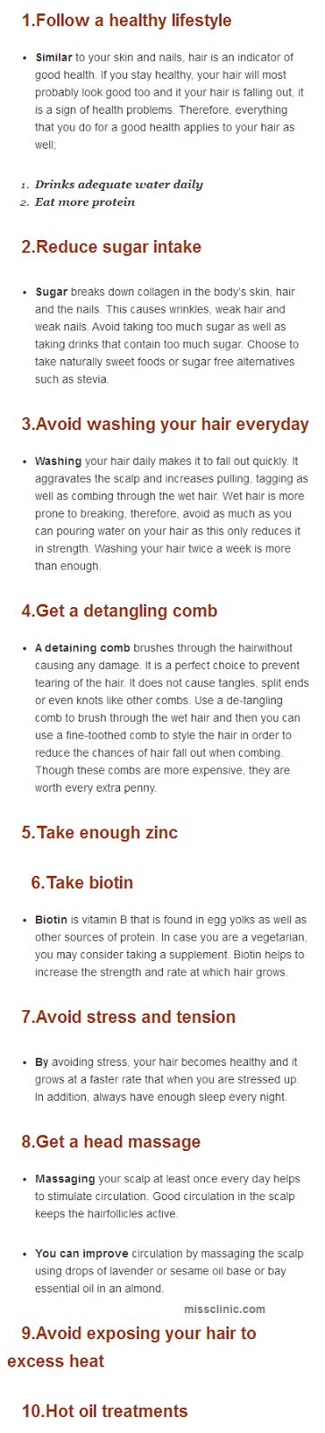 Long Hair tips ~ IAmJeni