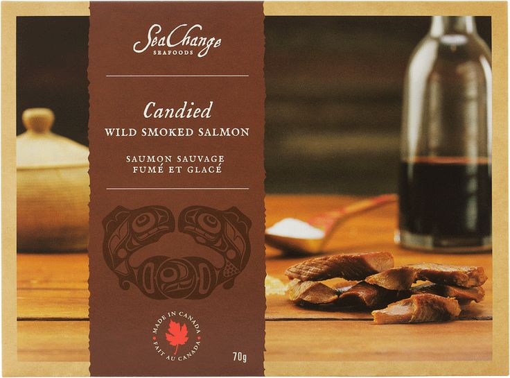 Candied Wild Smoked Salmon - SeaChange Seafoods - Unique Canadian Gifts