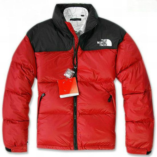 Cheap North Face Sale Men Nuptse Down Red Jacket uk http://www.
