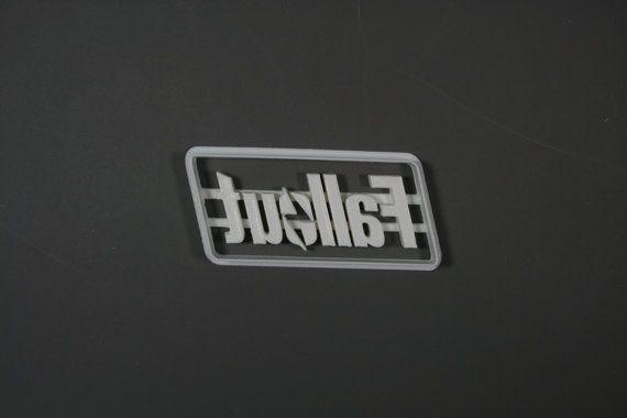 Fallout Logo Cookie Cutter by Geek2Geek on Etsy