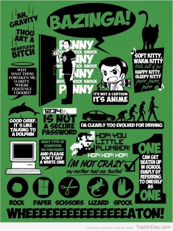 Sheldon Cooper Citations (The Big Bang theory)