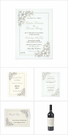 Wedding Stationery & Accessories Set 19