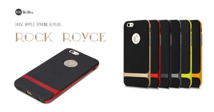 Descopera husele pentru iPhone 6 Plus ROCK Royce in combinatii clasice sau in culori aprinse!