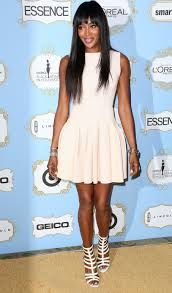 naomi campbell - she loves her long tresses