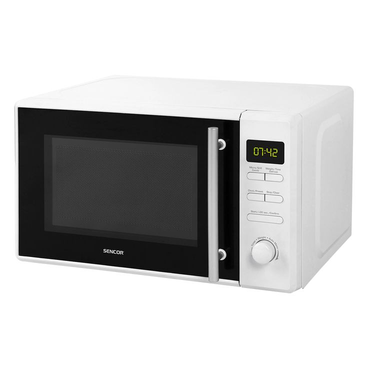 Microwave Oven with Grill SMW 5220 - Combination cooking mode (microwave + grill) - Defrosting based on weight and time - Pre-programmed cooking (8 menus)