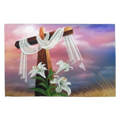 29 best easter scenes and cross images images on pinterest kitchen towel suitable for the easter holidays the image can be customized for vertical display voltagebd Images
