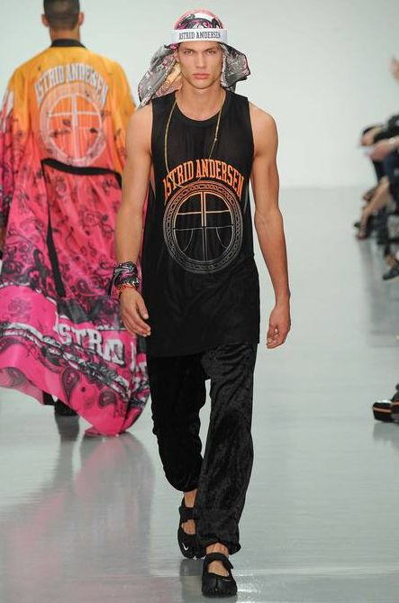 Astrid Andersen SS15 with jewelry collab with Black Dakini