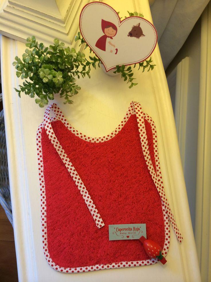 Toalla de algodón 100% en color rojo!!